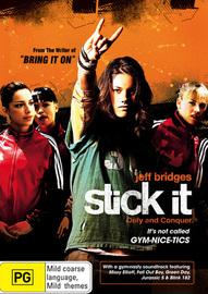 Stick It on DVD image