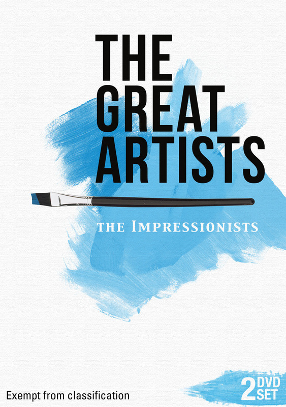 The Great Artists - The Impressionists on DVD