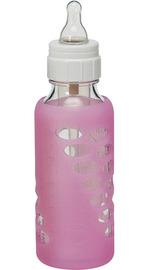 Dr Brown's Protective Sleeve for 240ml Glass Bottle - Single (Pink)