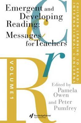 Children Learning To Read: International Concerns by Peter Pumfrey image
