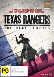 Texas Rangers: The Real Stories DVD