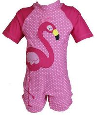 Hi-Hop: Flamingo Rash Suit - Pink (1 Year)