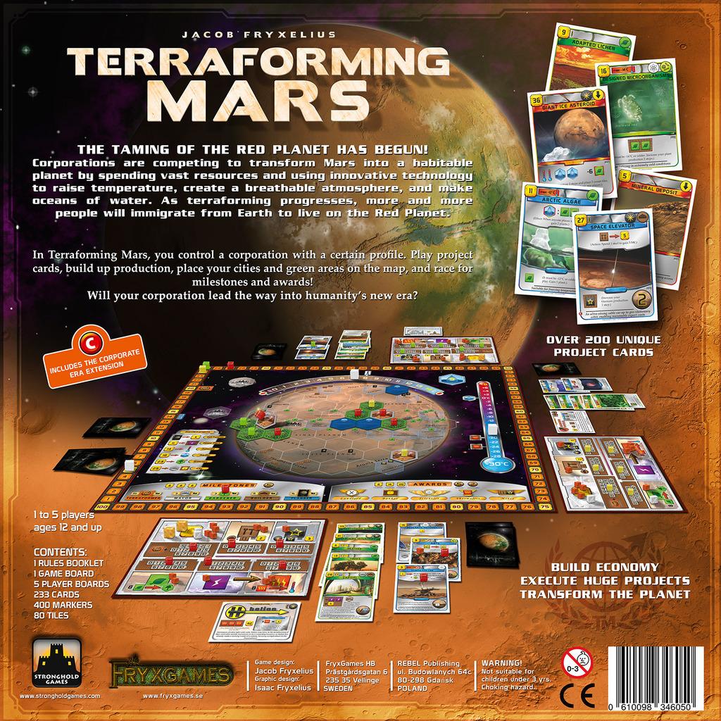 Terraforming Of Mars: Terraforming Mars