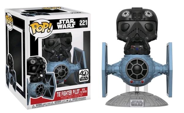 Star Wars - Tie Fighter & Pilot Pop! Deluxe Figure