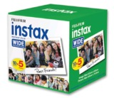 Fujifilm: Instax Wide Film - 50 Pack