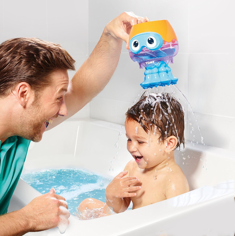 Tomy Toomies: Spin & Splash Jellyfish - Bath Toy image