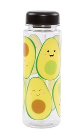 Happy Avocado - Clear Water Bottle