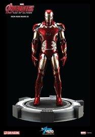 Marvel: Iron Man (Mark XLIII) - Multi Pose Vignette Model Kit