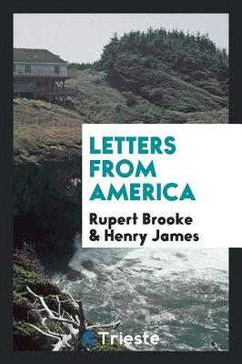 Letters from America by Rupert Brooke image