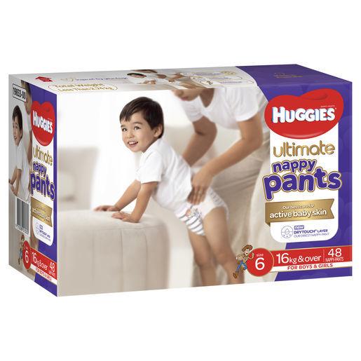 Huggies: Ulitmate Nappy Pants Jumbo - Size 6 Junior Unisex (48)