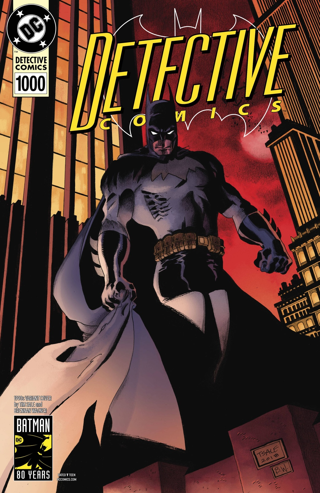 Batman: Detective Comics #1000 - (1990's Variant Edition) by Peter J Tomasi image