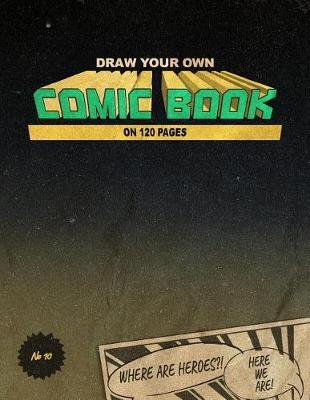 Comic Book by Comic Notebook