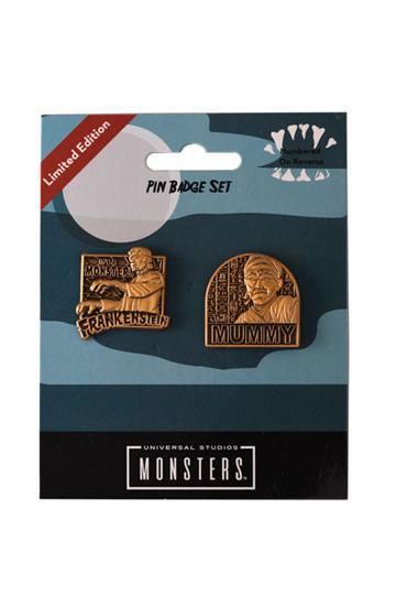 Universal Monsters - Pin Badge Set