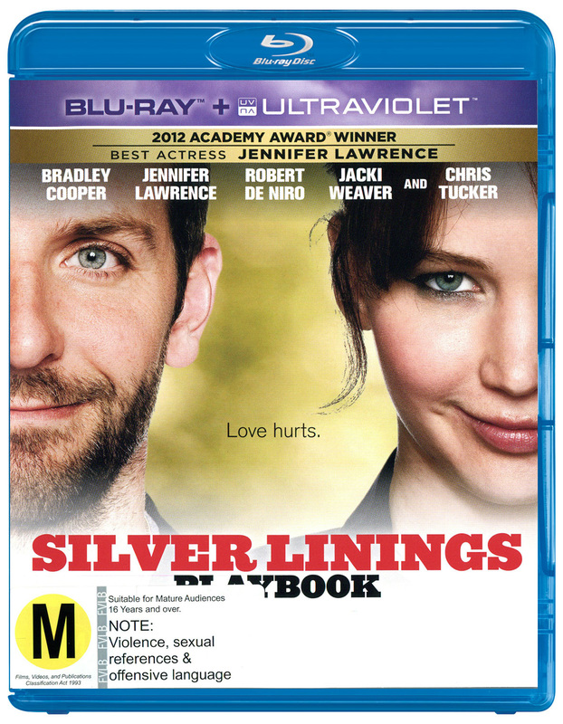 Silver Linings Playbook on Blu-ray