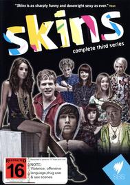 Skins - Complete 3rd Series (3 Disc Set) on DVD