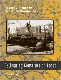 Estimating Construction Costs by Garold D. Oberlender image