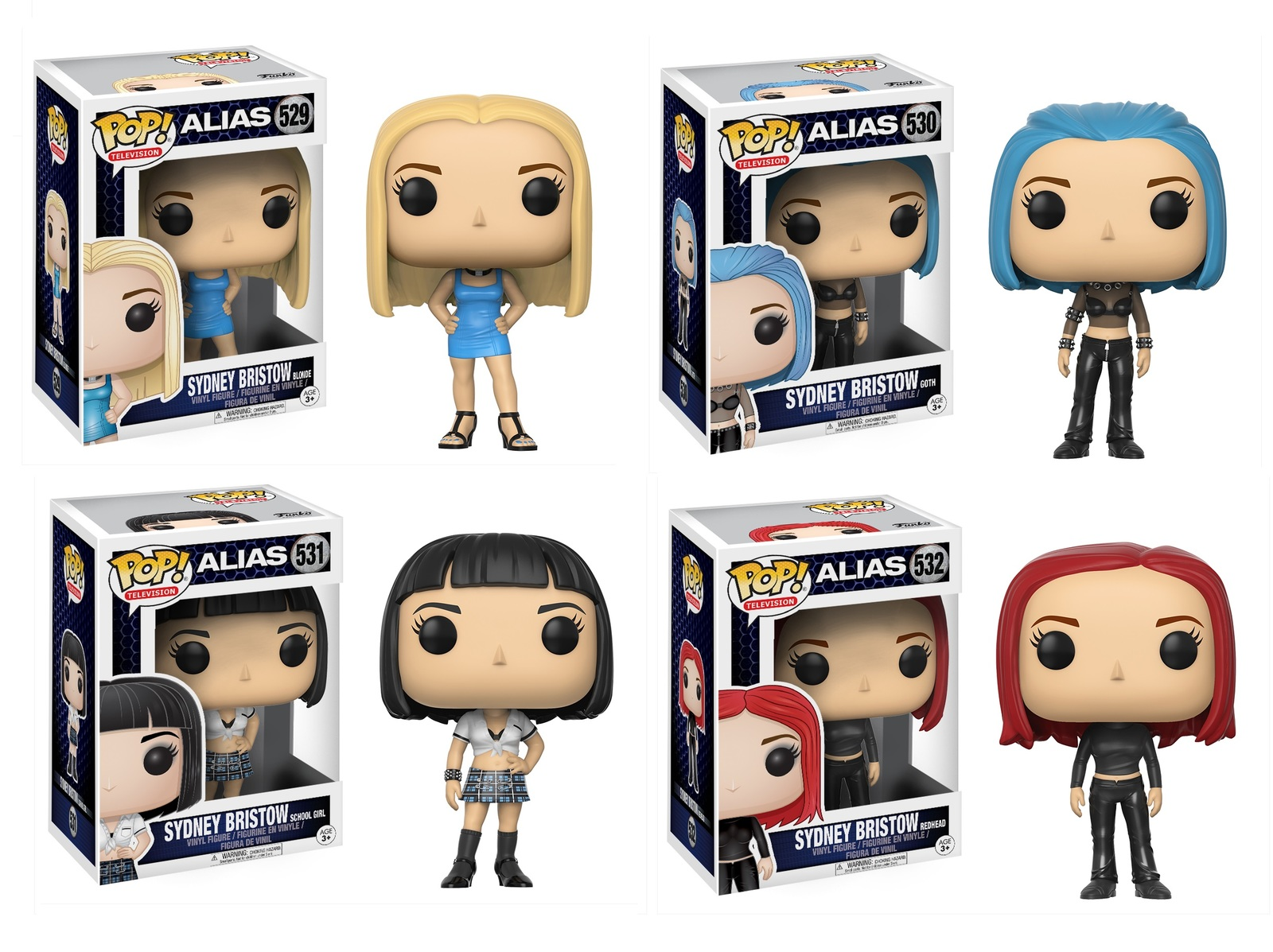 Alias - Pop! Vinyl Bundle image