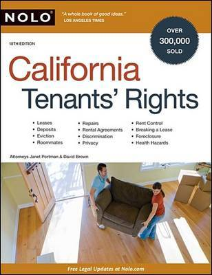 California Tenants' Rights by Janet Portman, Attorney image