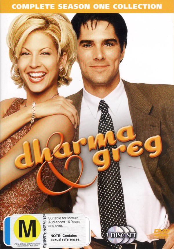 Dharma and Greg - Season 1 (3 Disc Set) on DVD image