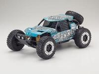 Kyosho 1/10 Axxe Readyset Electric Powered Type 6 - (Blue/Green)