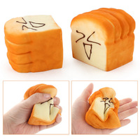 I Love Squishy: Bread Face Squishie Toy (8cm)