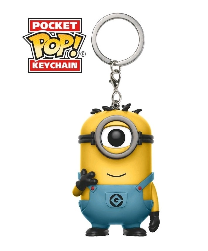 Despicable Me 3 - Carl Pocket Pop! Keychain image