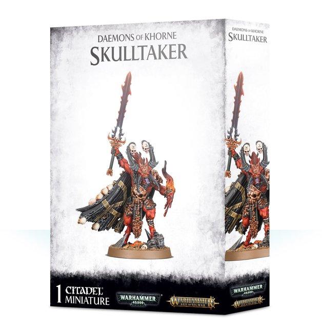 Warhammer Age of Sigma: Daemons Of Khorne Skulltaker