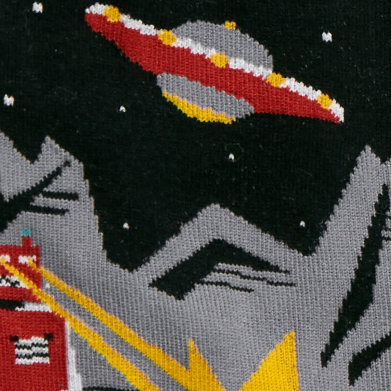 Sock It to Me: Mens Crew - Zap! Zap! image