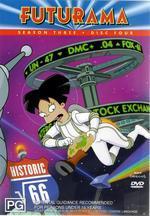 Futurama - Season 3 Disc 4 on DVD