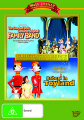 One And Only, Genuine, Original Family Band / Babes In Toyland (1961) - Collector's Double Pack (2 Disc Set) on DVD