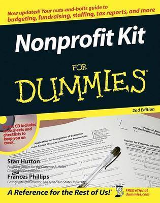 Nonprofit Kit for Dummies by Frances Phillips
