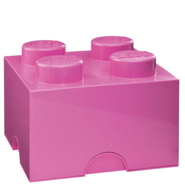LEGO: Storage Brick 4 - Pink
