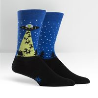 Mens - The Alien Who Stole Christmas Crew Socks