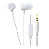 Audio-Technica ATHCKL220iS DIP' In-Ear Headphones (White)