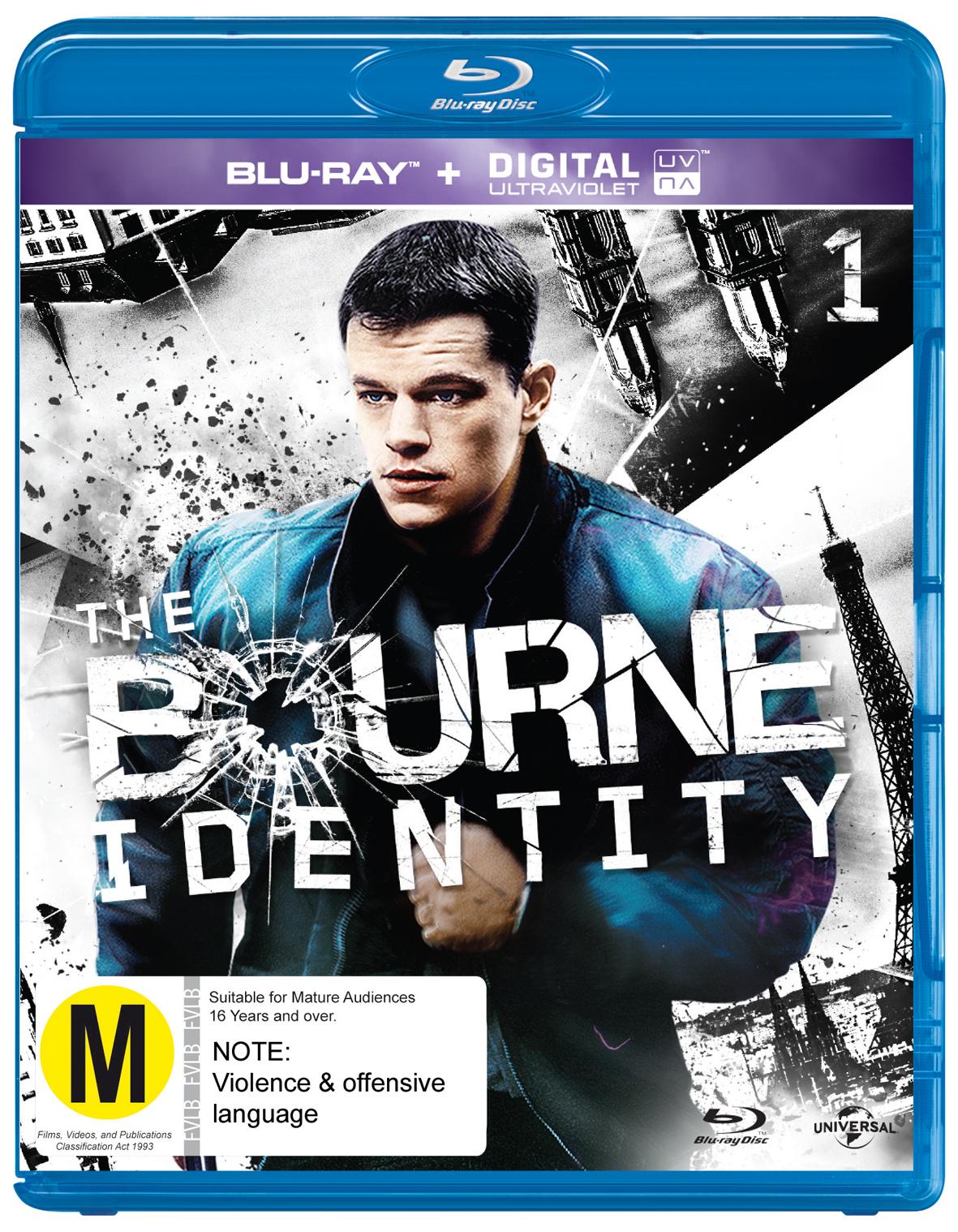 The Bourne Identity on Blu-ray, UV image