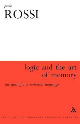 Logic and the Art of Memory by Paolo Rossi image