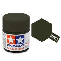 Tamiya Acrylic: Khaki Drab (XF51)