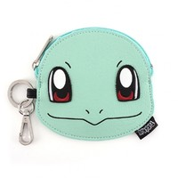 Loungefly: Pokemon Squirtle Face Coin Bag