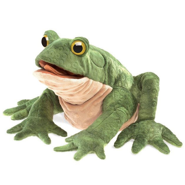 Folkmanis Hand Puppet - Toad