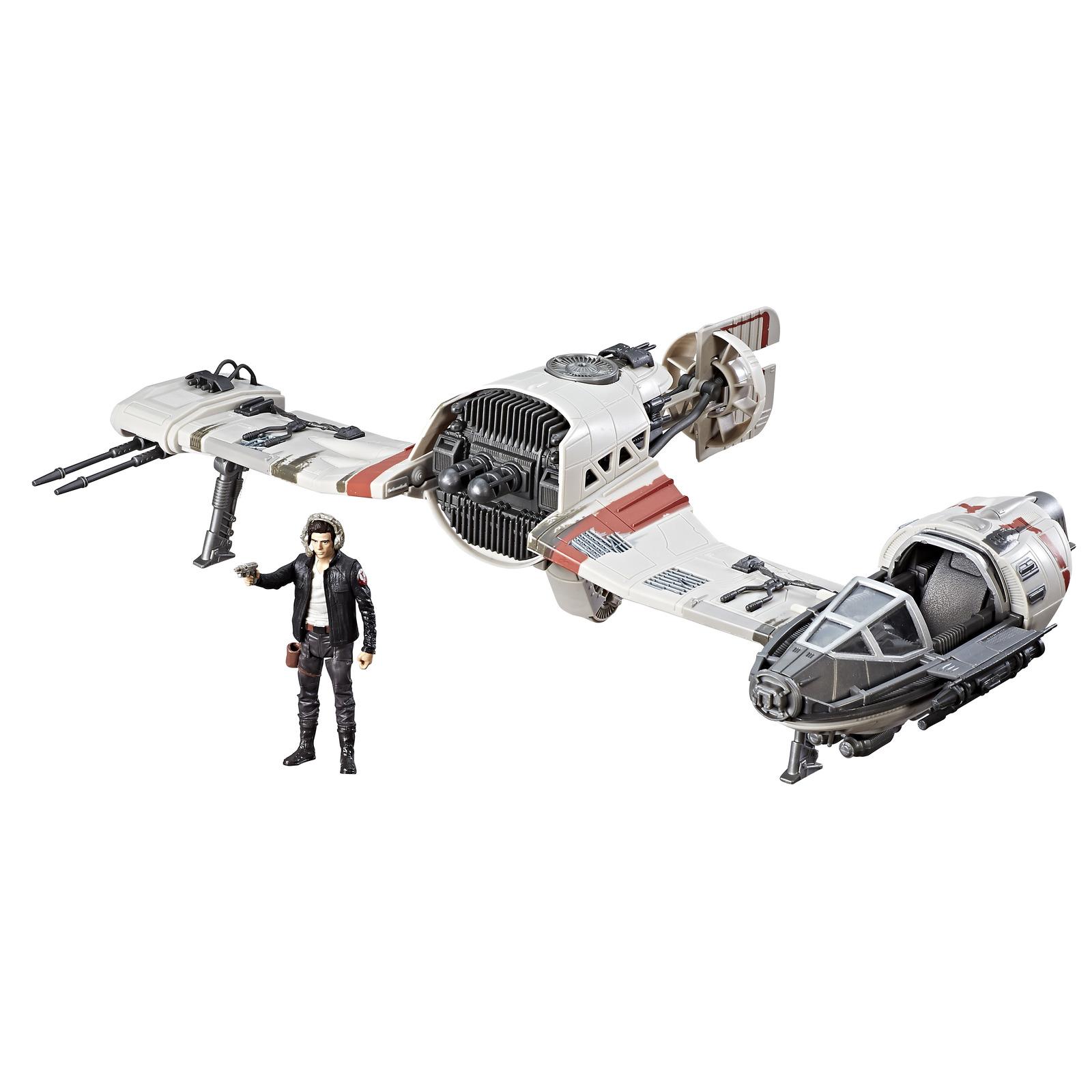 Star Wars: Force Link Figure - Poe Dameron & Ski Speeder 2 Pack image
