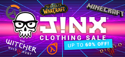 Epic Jinx Clothing Sale