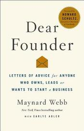 Dear Founder by Carlye Adler