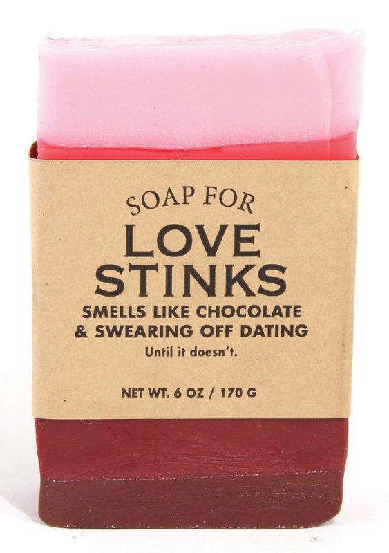 Whiskey River Co: Soap - Love Stinks