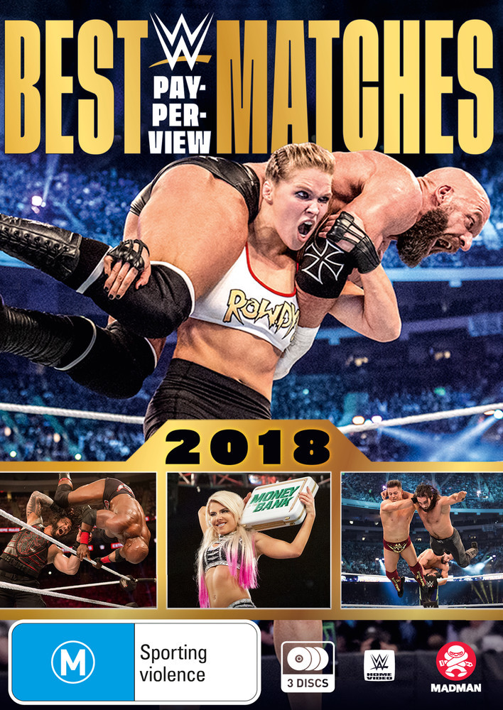 WWE: Best PPV Matches 2018 on DVD image