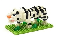 nanoblock: Critter Series - White Tiger (#2)