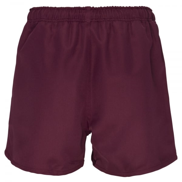 Professional Polyester Short - Maroon (XS) image