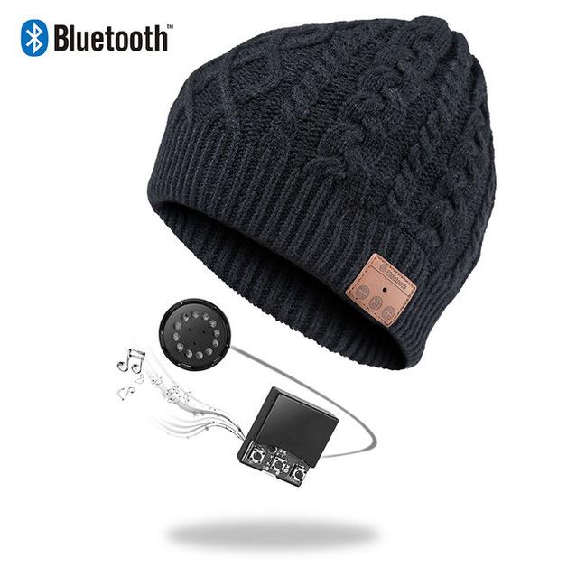 Ape Basics: Wireless Bluetooth Music Cap - Black