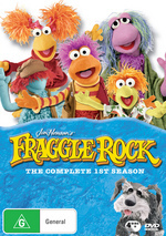 Fraggle Rock (Jim Henson's) - Complete Season 1 (4 Disc Box Set) on DVD