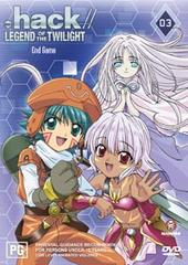 .hack//legend Of The Twilight Volume 3 - End Game on DVD