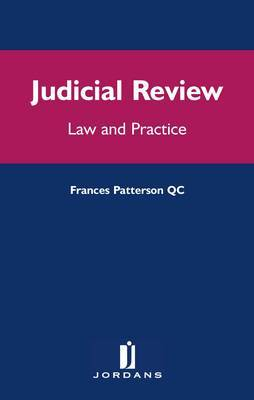 Judicial Review: Law and Practice by Frances Silverman Patteson image